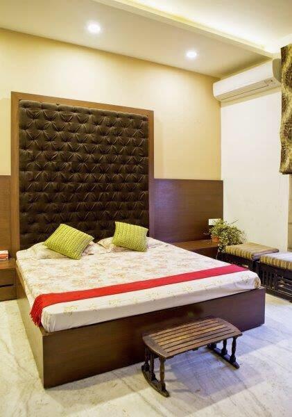 Bed room with chocolate essence by Mahesh Shivaji Bhoskar