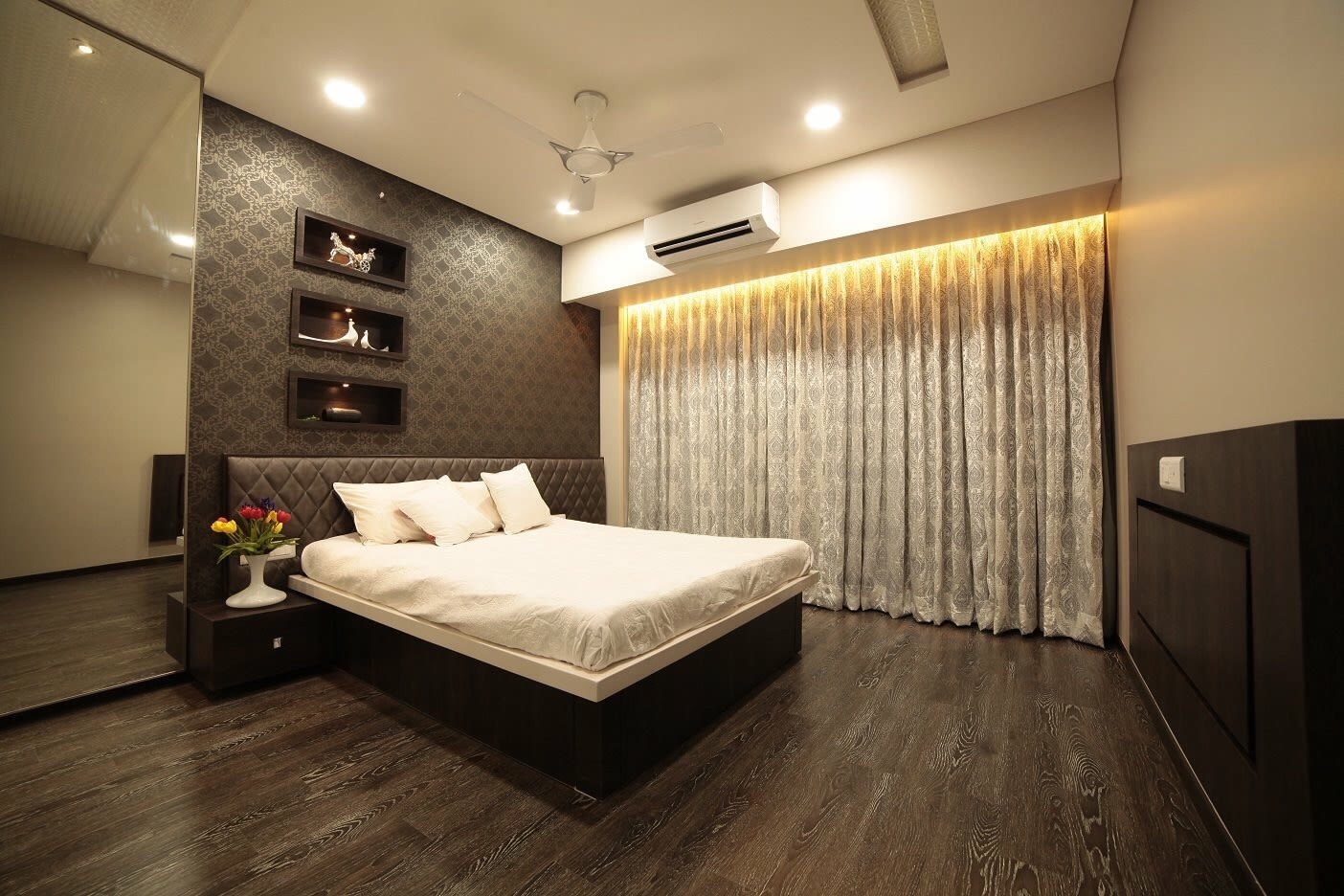 Chestnut Choice by Pragati Interior@ Contemporary | Interior Design Photos & Ideas