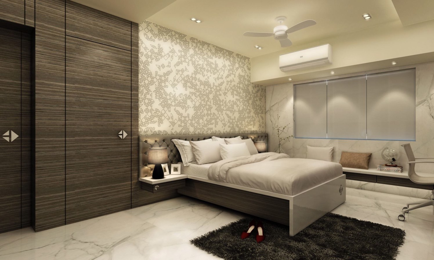 Plushy Comfort by Pragati Interior@ Contemporary | Interior Design Photos & Ideas