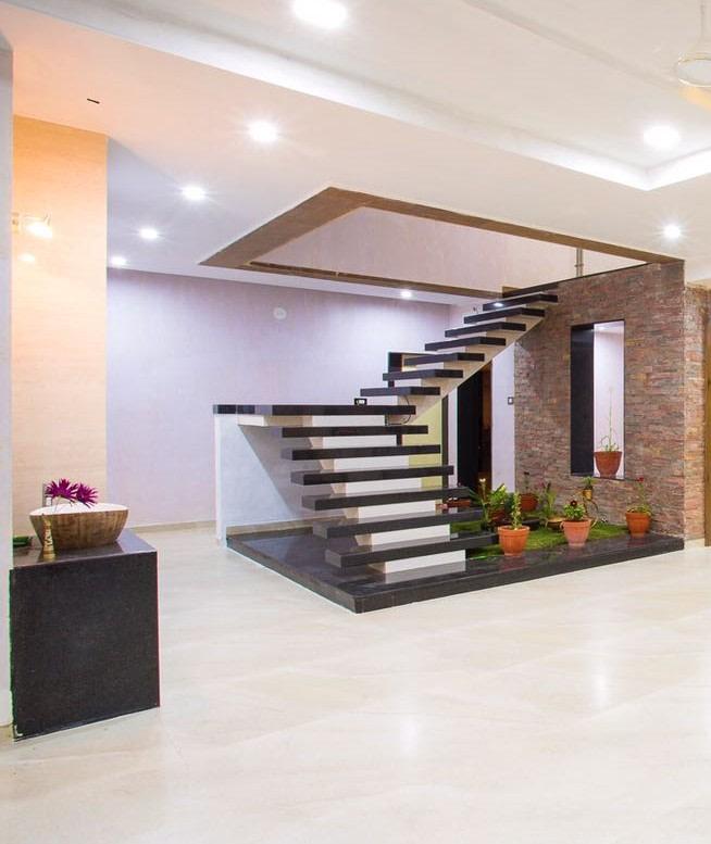 Stairway to Heaven by Ajinkya Anil Jagtap Modern | Interior Design Photos & Ideas