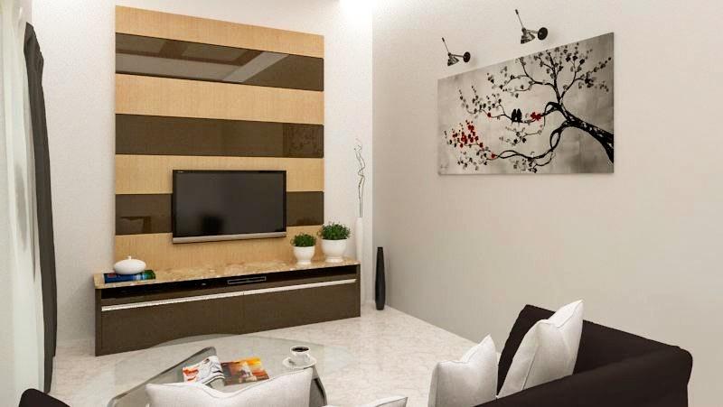 Modern Living Room. by hem raj Living-room Modern   Interior Design Photos & Ideas