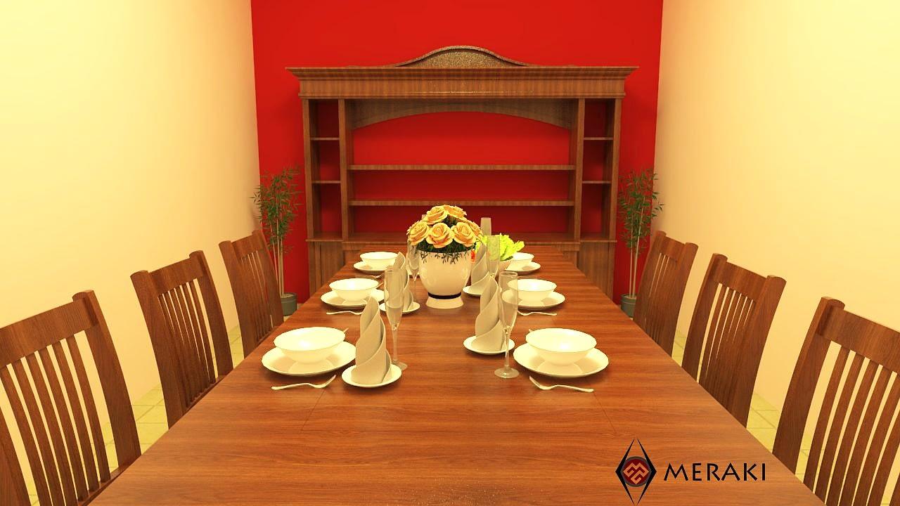 Modern Dining Room. by hem raj Dining-room Modern | Interior Design Photos & Ideas