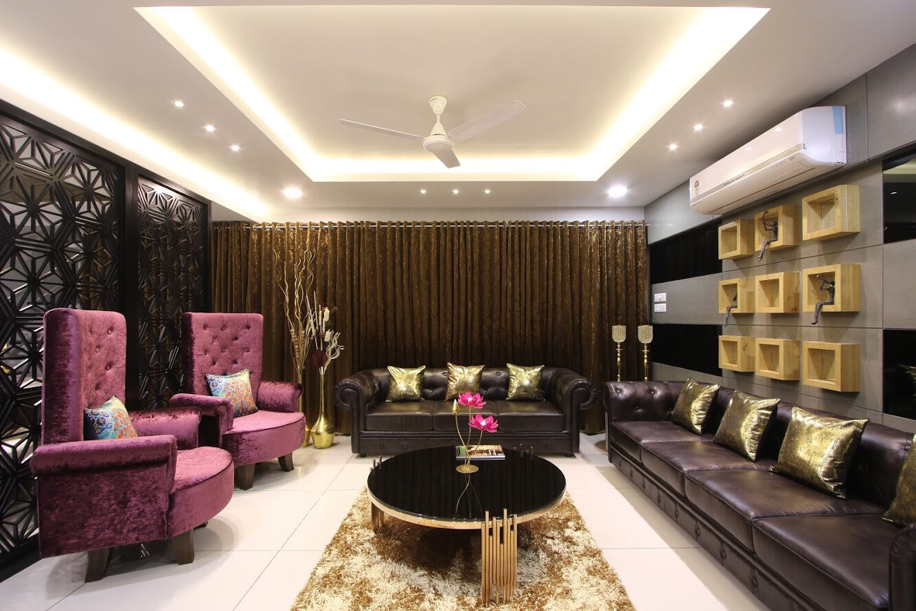 For the high flyers by Dhwani Patel Living-room Contemporary | Interior Design Photos & Ideas