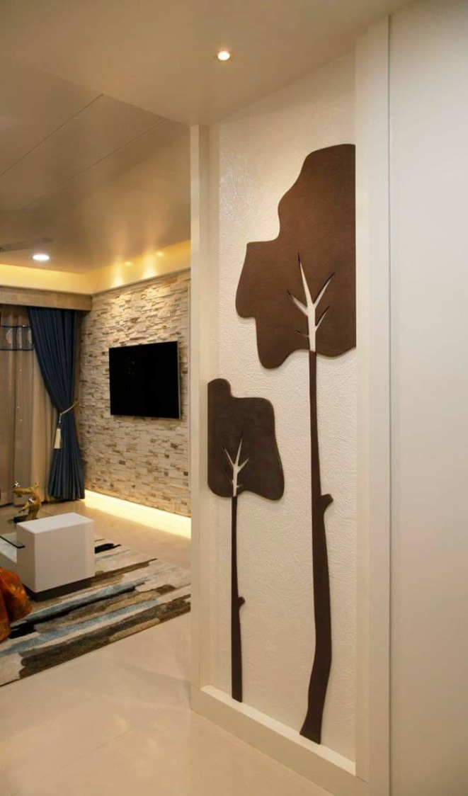Chocolaty tree by Vinay Lawand Contemporary | Interior Design Photos & Ideas