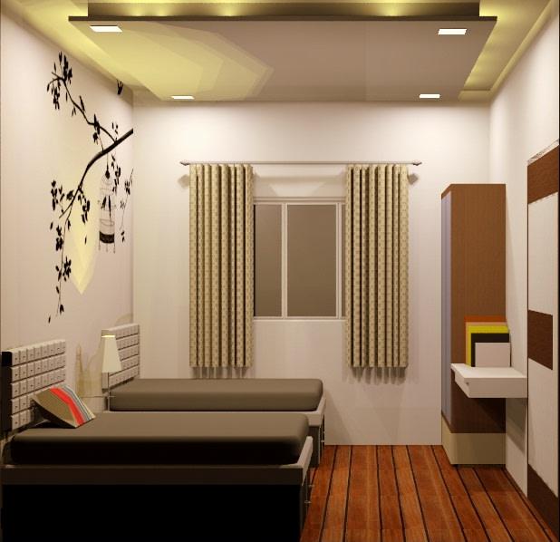 Down On The Corner by Aishwarya Sagar Kadam Bedroom Contemporary | Interior Design Photos & Ideas
