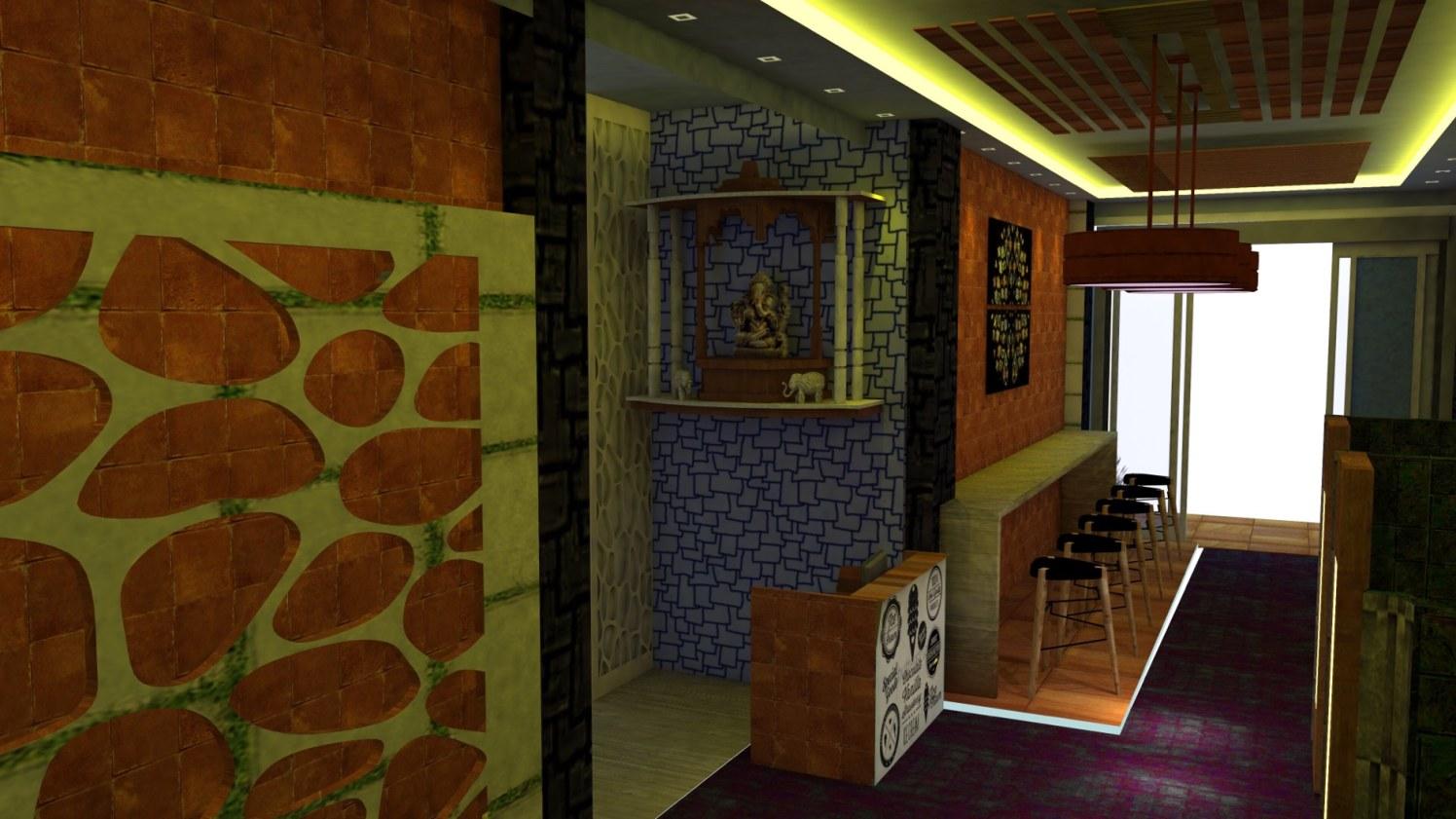 Cafe by Jheeva Contemporary | Interior Design Photos & Ideas