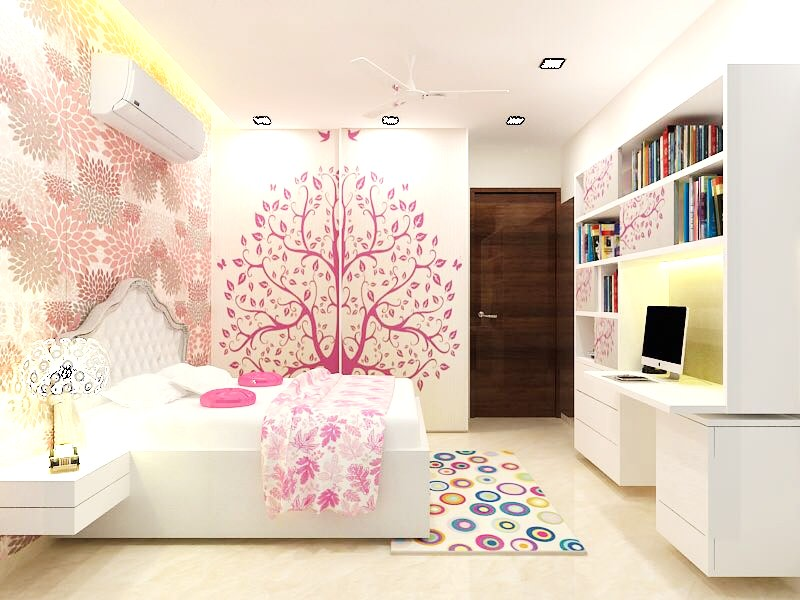 Pretty Pink by Rupali Naik Modern | Interior Design Photos & Ideas