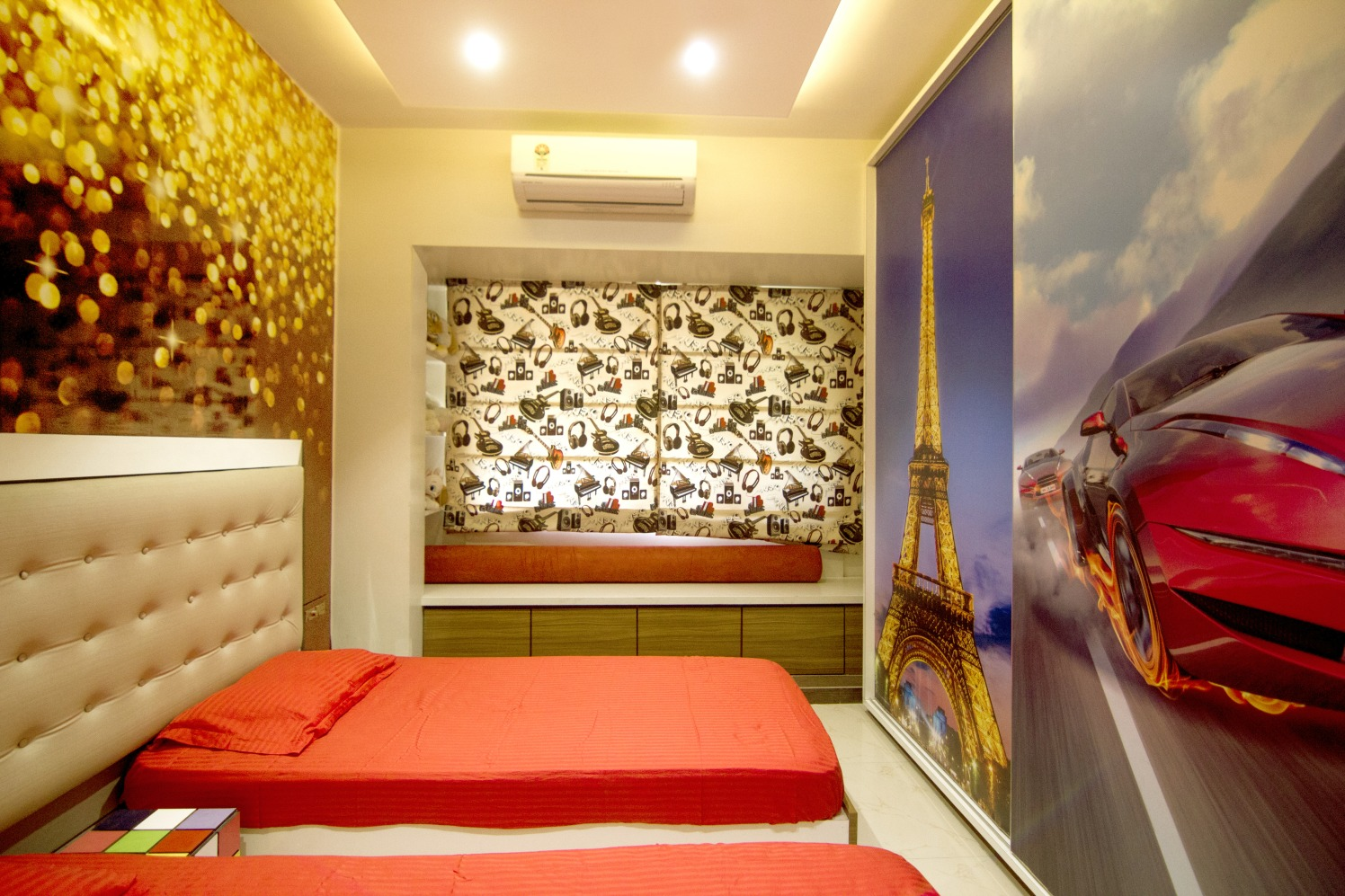 NFS Bedroom by Rupali Naik Modern | Interior Design Photos & Ideas