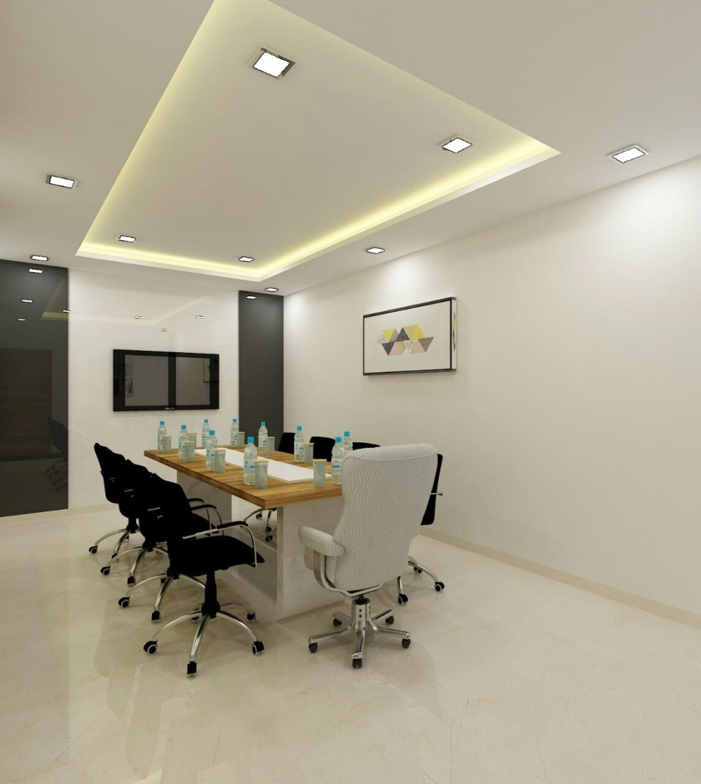 Conference Room by Rupali Naik Modern | Interior Design Photos & Ideas
