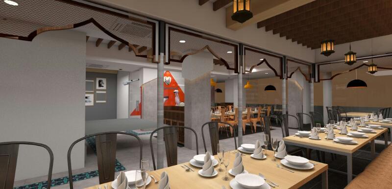 Cafe design by Ameer Tumbi Modern | Interior Design Photos & Ideas