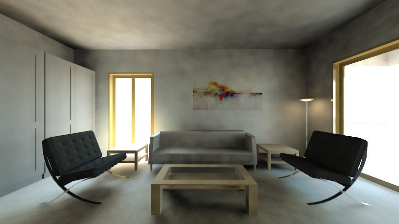 Smoky hues in Living room by Vinayak Hanchate Living-room Contemporary | Interior Design Photos & Ideas