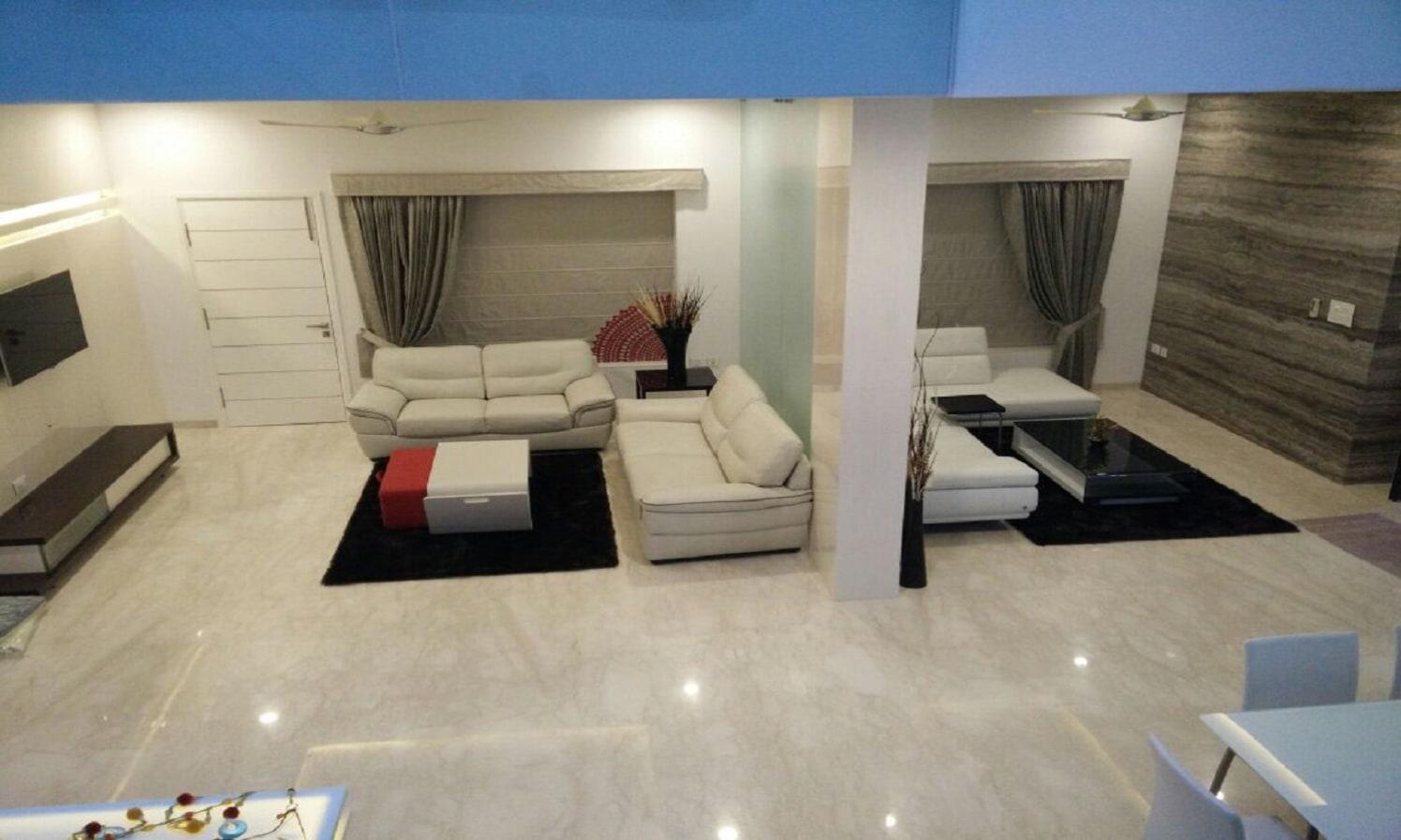 Contemporary living area by Creative Architects and Interiors Living-room Contemporary | Interior Design Photos & Ideas
