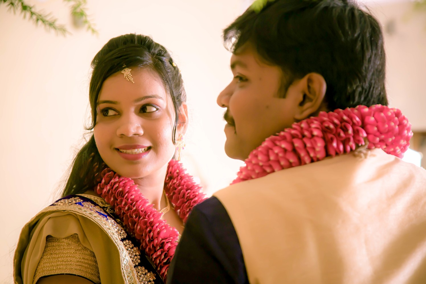 Bride and Groom Portrait by Karthik Wedding-photography | Weddings Photos & Ideas