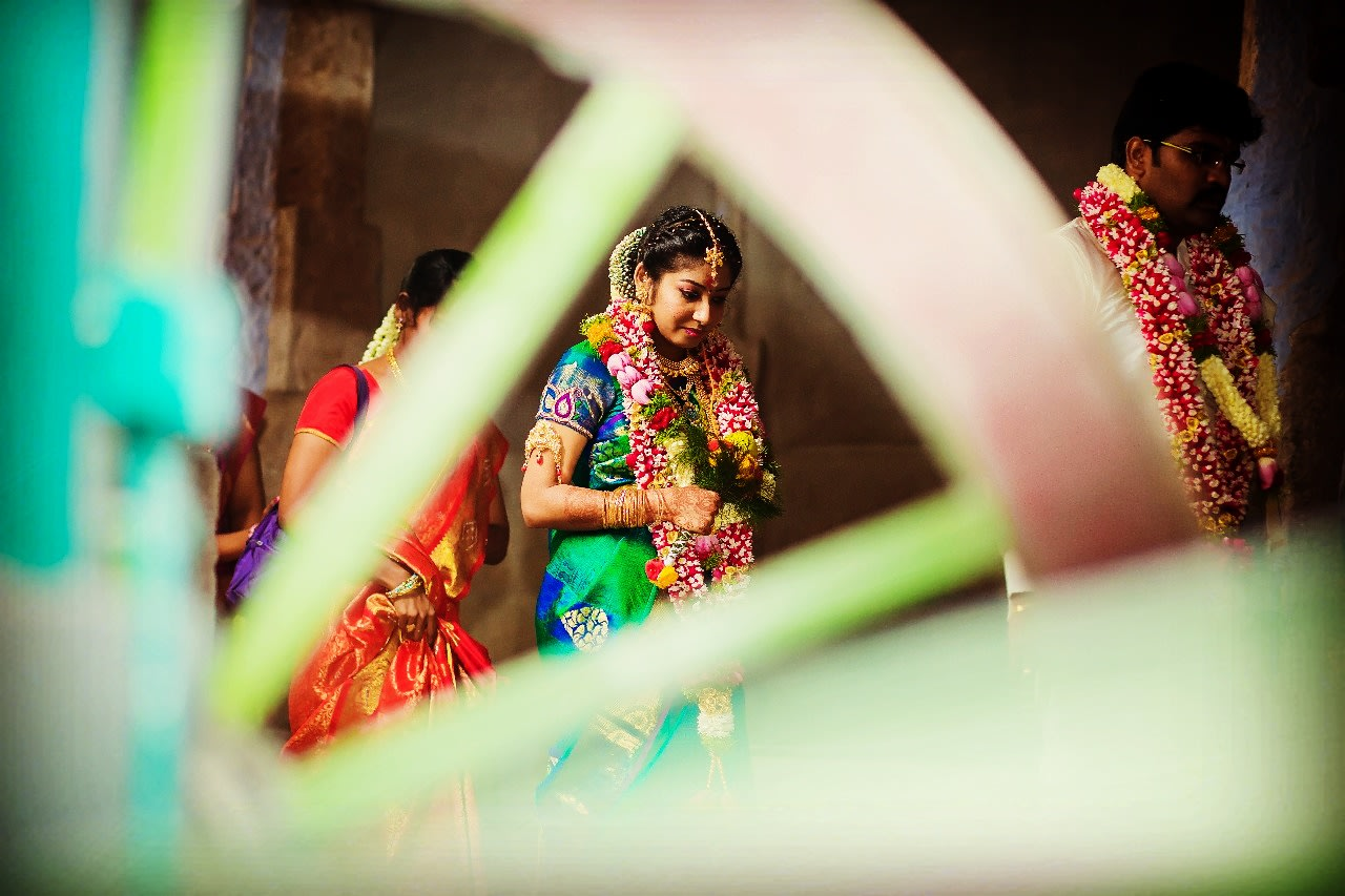 Candid Bride Shot by Karthik Wedding-photography | Weddings Photos & Ideas