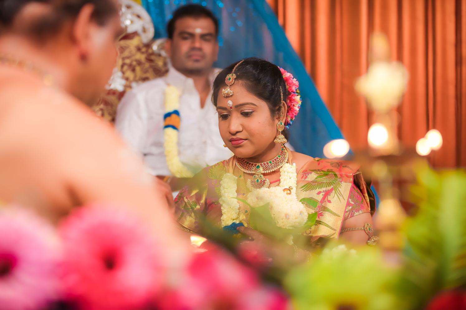 Candid Bride Shot by Karthik Wedding-photography | Weddings Photos & Ideas