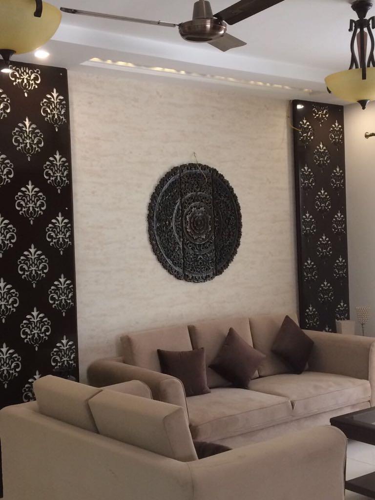 Chocolate Hues by Preethi Hendricks Living-room Contemporary | Interior Design Photos & Ideas
