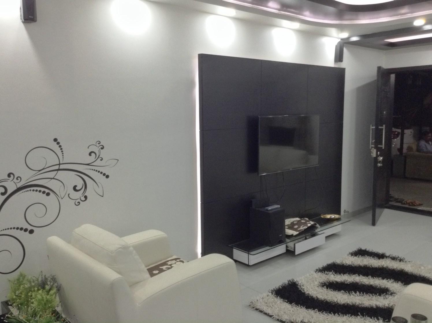 The Color Theory by Siddhant Ashtekar Living-room Contemporary | Interior Design Photos & Ideas