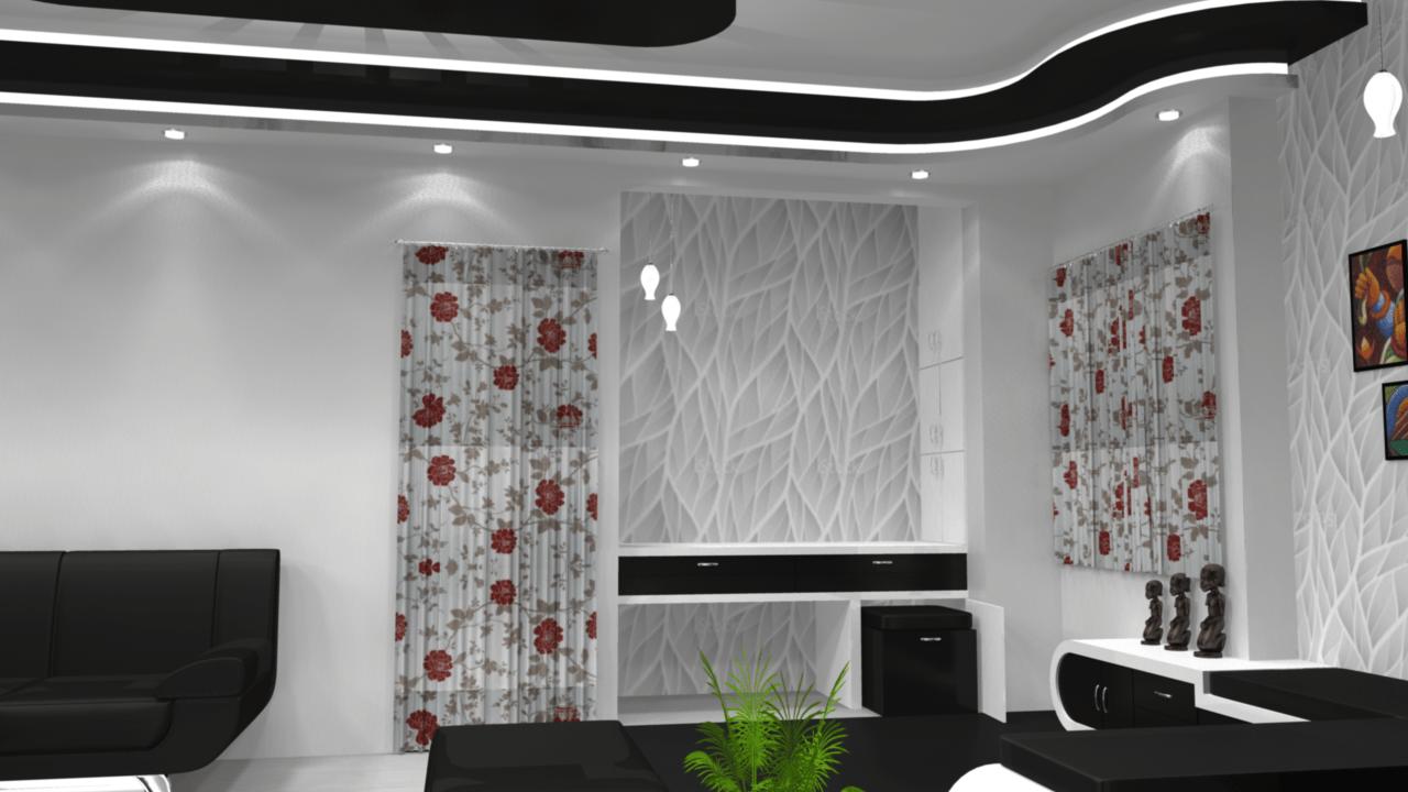 Patterns Love by Siddhant Ashtekar Living-room Contemporary | Interior Design Photos & Ideas