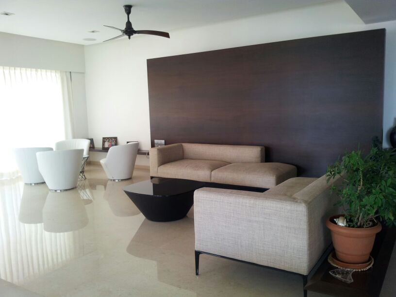 A simple living room. by Nikhil Living-room Minimalistic | Interior Design Photos & Ideas