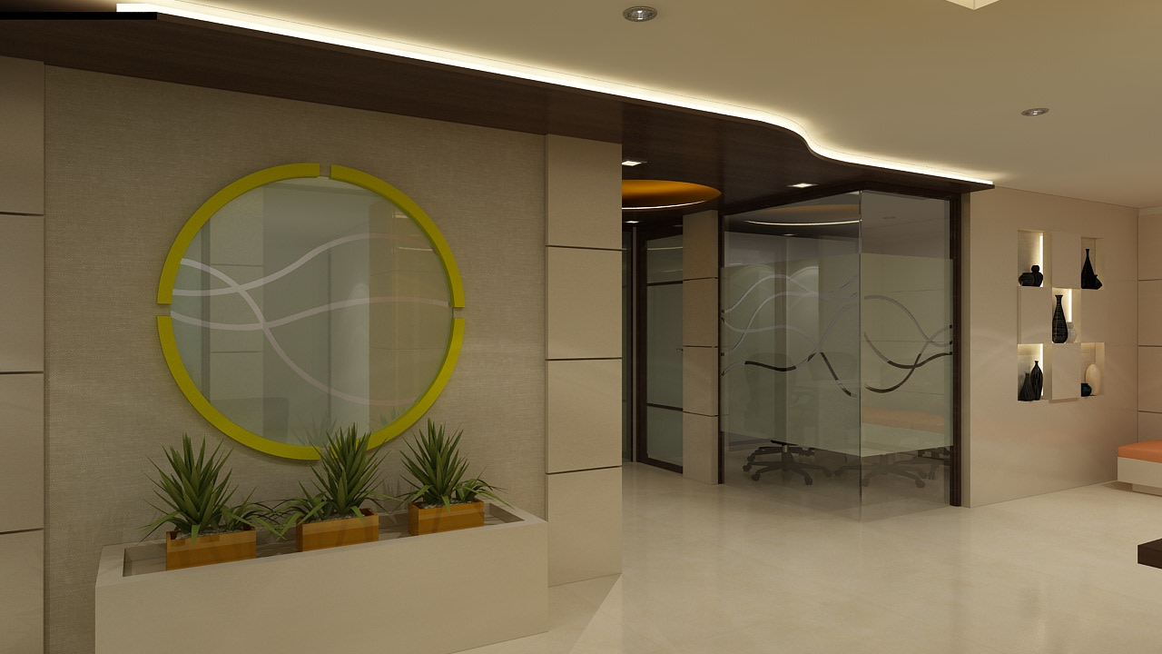 Office entry by rohini yadav Modern | Interior Design Photos & Ideas