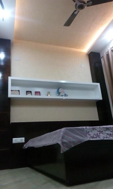 Bedroom space by Ashish Singh Bedroom Contemporary | Interior Design Photos & Ideas