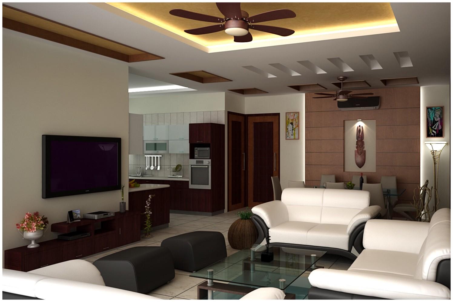 Contemporary living area by Ashish Singh Living-room Contemporary | Interior Design Photos & Ideas