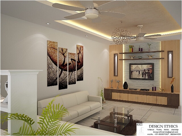 Contemporary living area by Ashish Singh Living-room Contemporary | Interior Design Photos & Ideas
