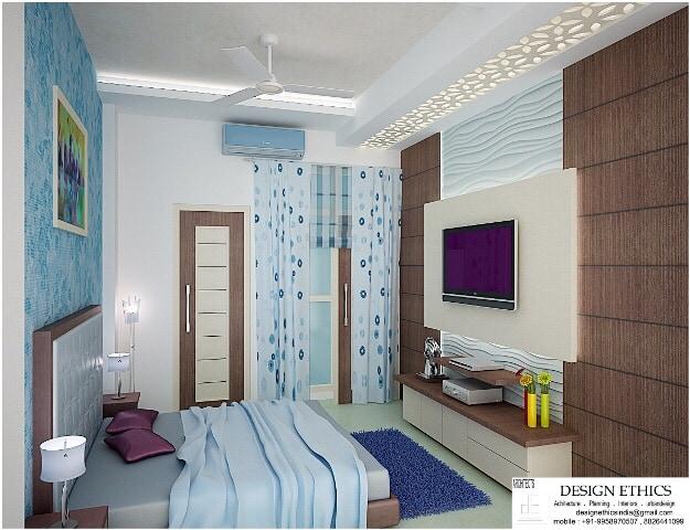 Contemporary bedroom area by Ashish Singh Bedroom Contemporary | Interior Design Photos & Ideas