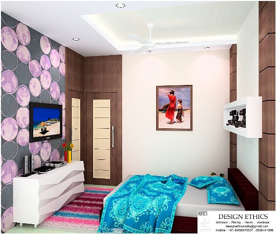 Contemporary bedroom by Ashish Singh Bedroom Contemporary | Interior Design Photos & Ideas