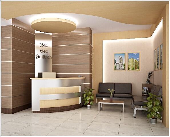 Reception area by Ashish Singh Contemporary | Interior Design Photos & Ideas