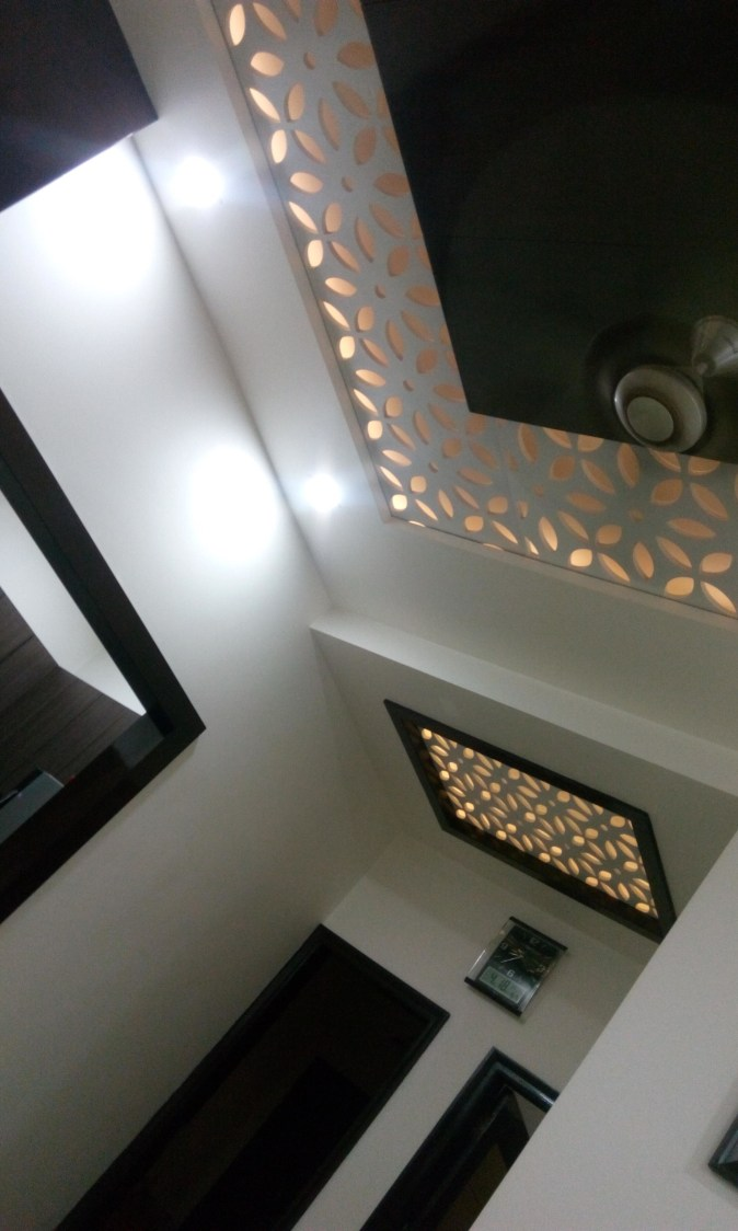 False ceiling by Ashish Singh Living-room Contemporary | Interior Design Photos & Ideas