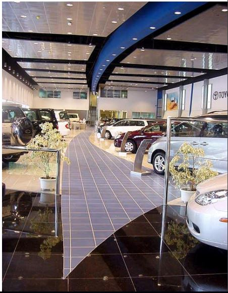 Toyota Showroom by Shashikaran N S Modern | Interior Design Photos & Ideas