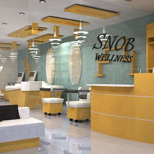 Salon space by Sami Mohiuddin Ansari Contemporary | Interior Design Photos & Ideas
