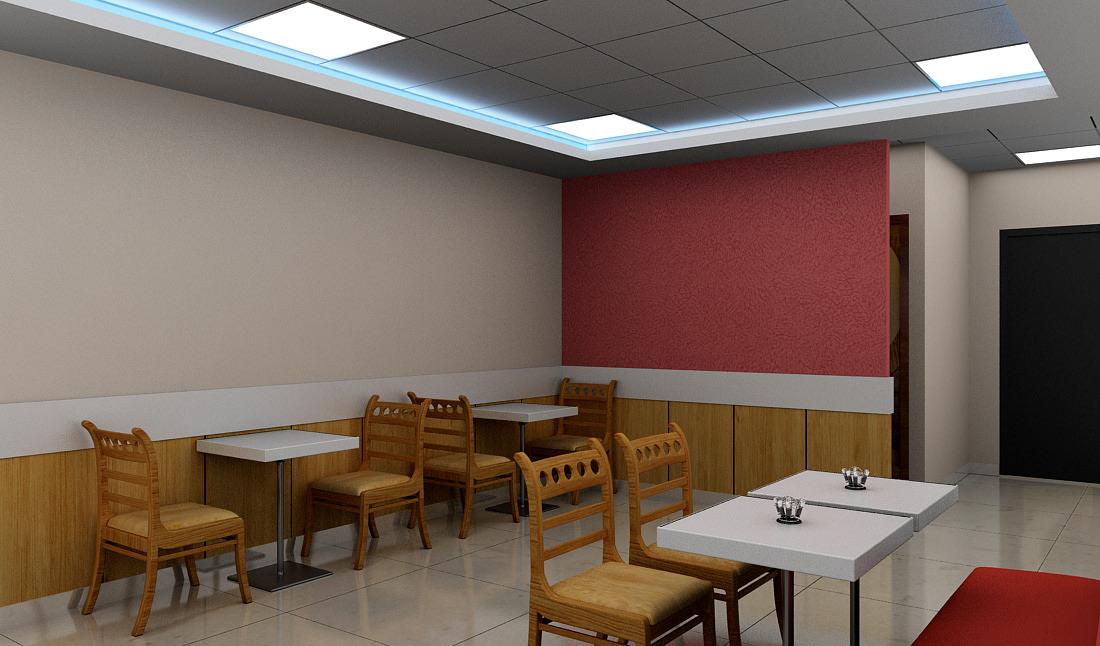 Cafe space by Sami Mohiuddin Ansari Contemporary | Interior Design Photos & Ideas