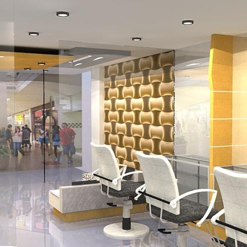 Salon space by Sami Mohiuddin Ansari Contemporary   Interior Design Photos & Ideas