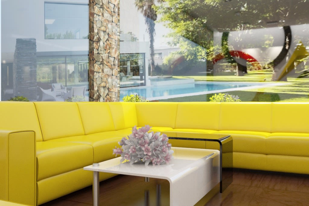 Yellow Gloss by Rashid Khan Modern | Interior Design Photos & Ideas