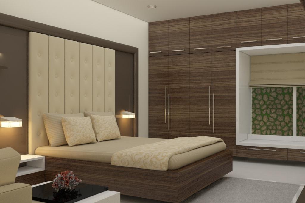 Elegant Wood by Rashid Khan Bedroom Modern | Interior Design Photos & Ideas