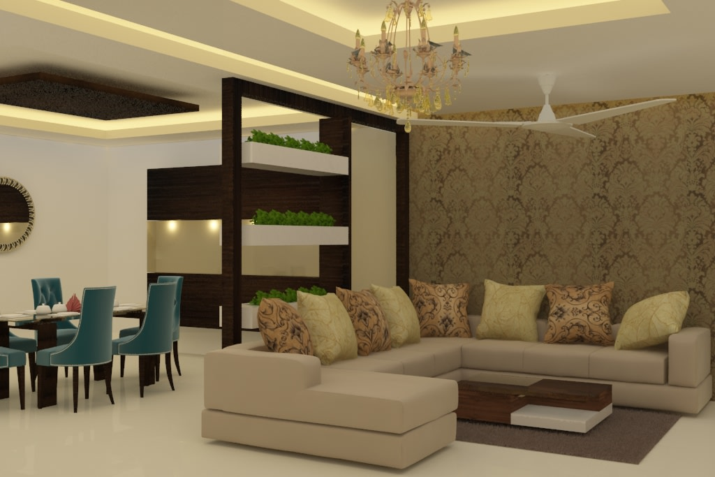 Lavish Furnishings by Rashid Khan Living-room Modern | Interior Design Photos & Ideas