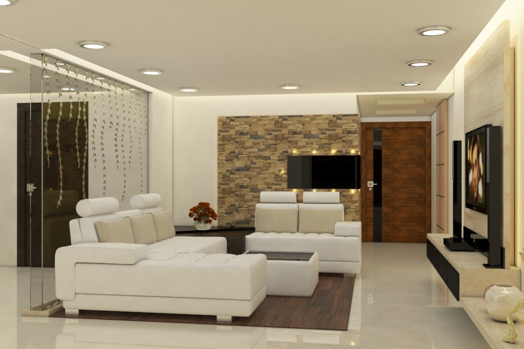 White Glow by Rashid Khan Living-room Modern | Interior Design Photos & Ideas