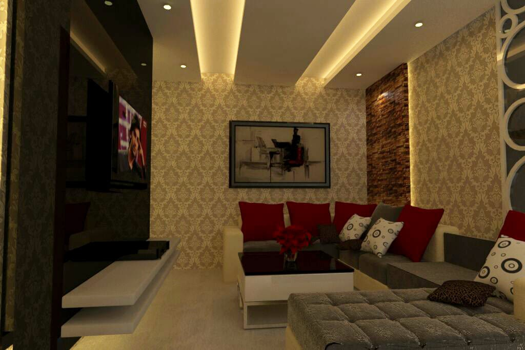 Dim Lights by Rashid Khan Living-room Modern | Interior Design Photos & Ideas