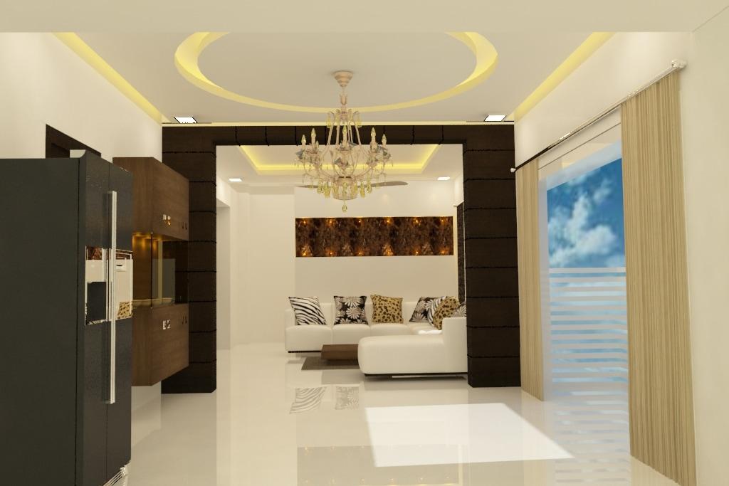 Calm And Serene by Rashid Khan Living-room Modern | Interior Design Photos & Ideas