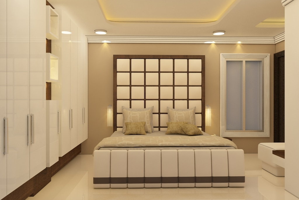 Squares And Grids by Rashid Khan Bedroom Modern | Interior Design Photos & Ideas