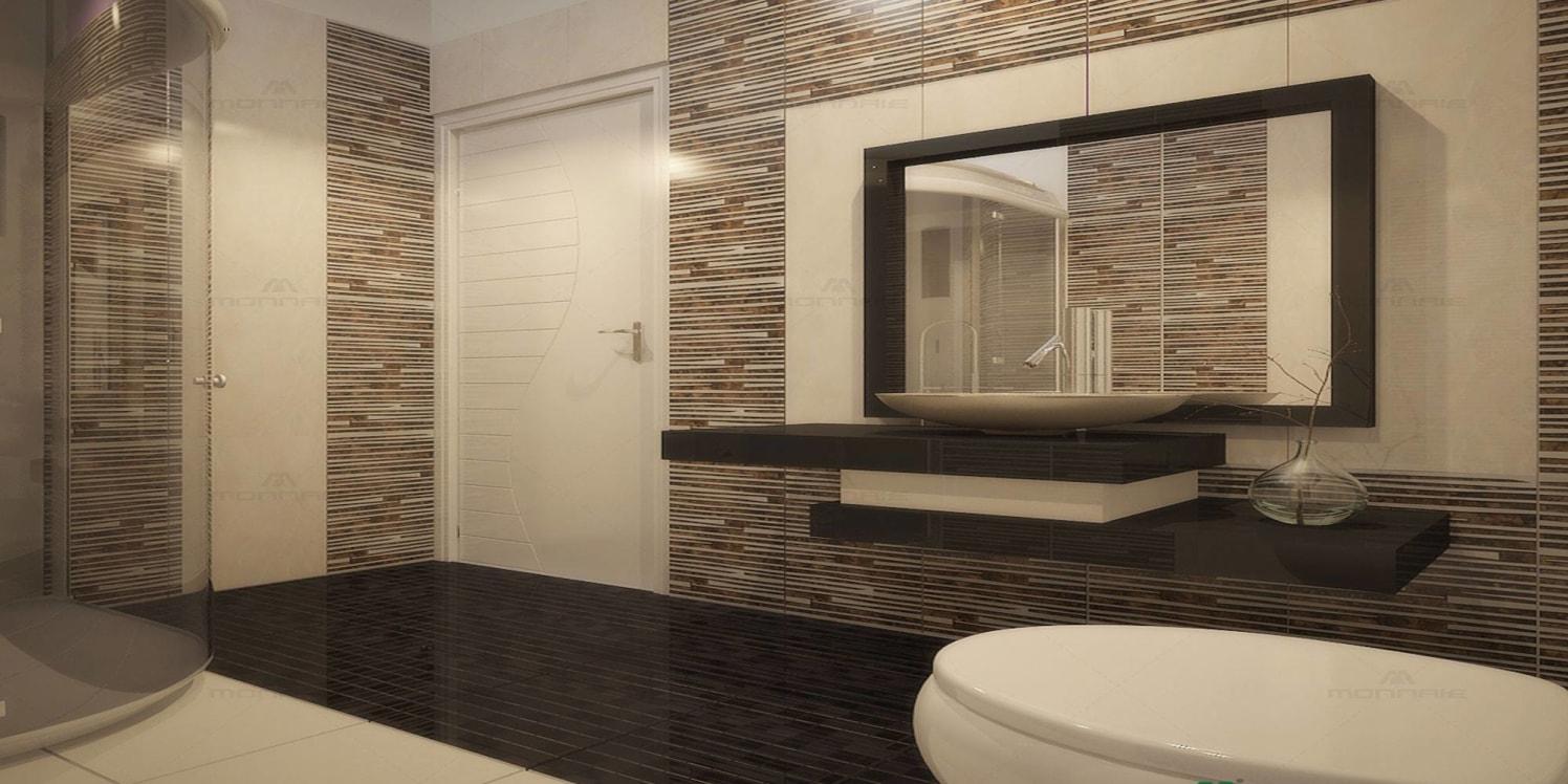 Modern bathroom by Monnaie Architects Bathroom Modern | Interior Design Photos & Ideas