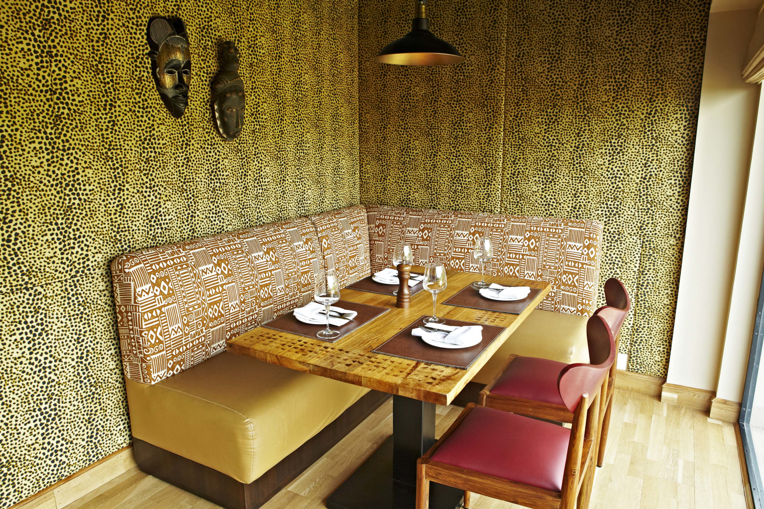 Traditional Dining by The Hidden Gallery