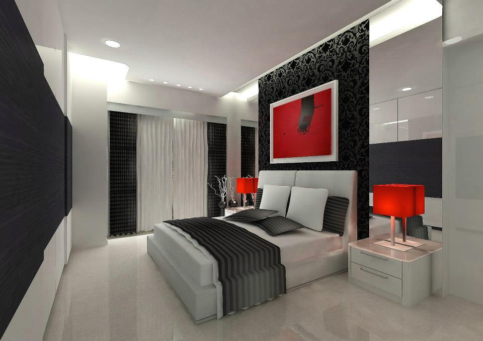 Red Spot by Sagar Shah Modern | Interior Design Photos & Ideas