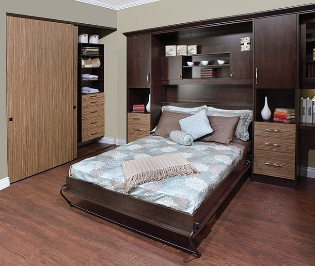 Mahogany Wood Bed  With Display by color's interio Bedroom Contemporary | Interior Design Photos & Ideas