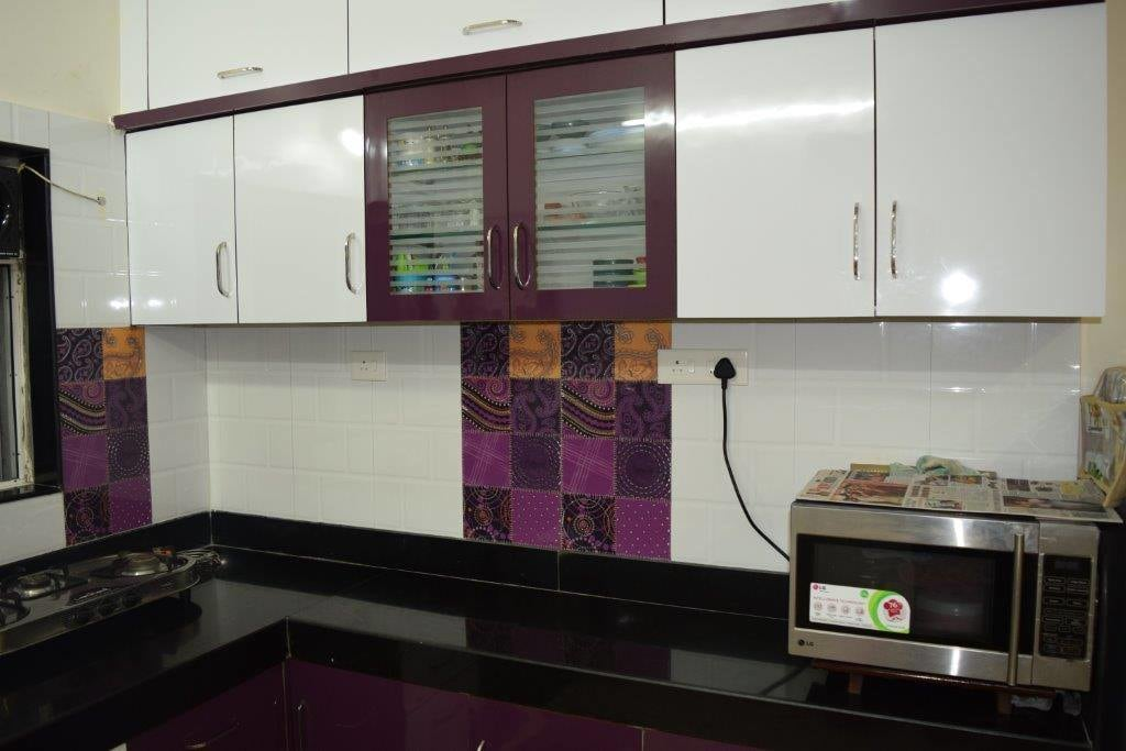 Kitchen cabinet by color's interio Modular-kitchen Contemporary | Interior Design Photos & Ideas