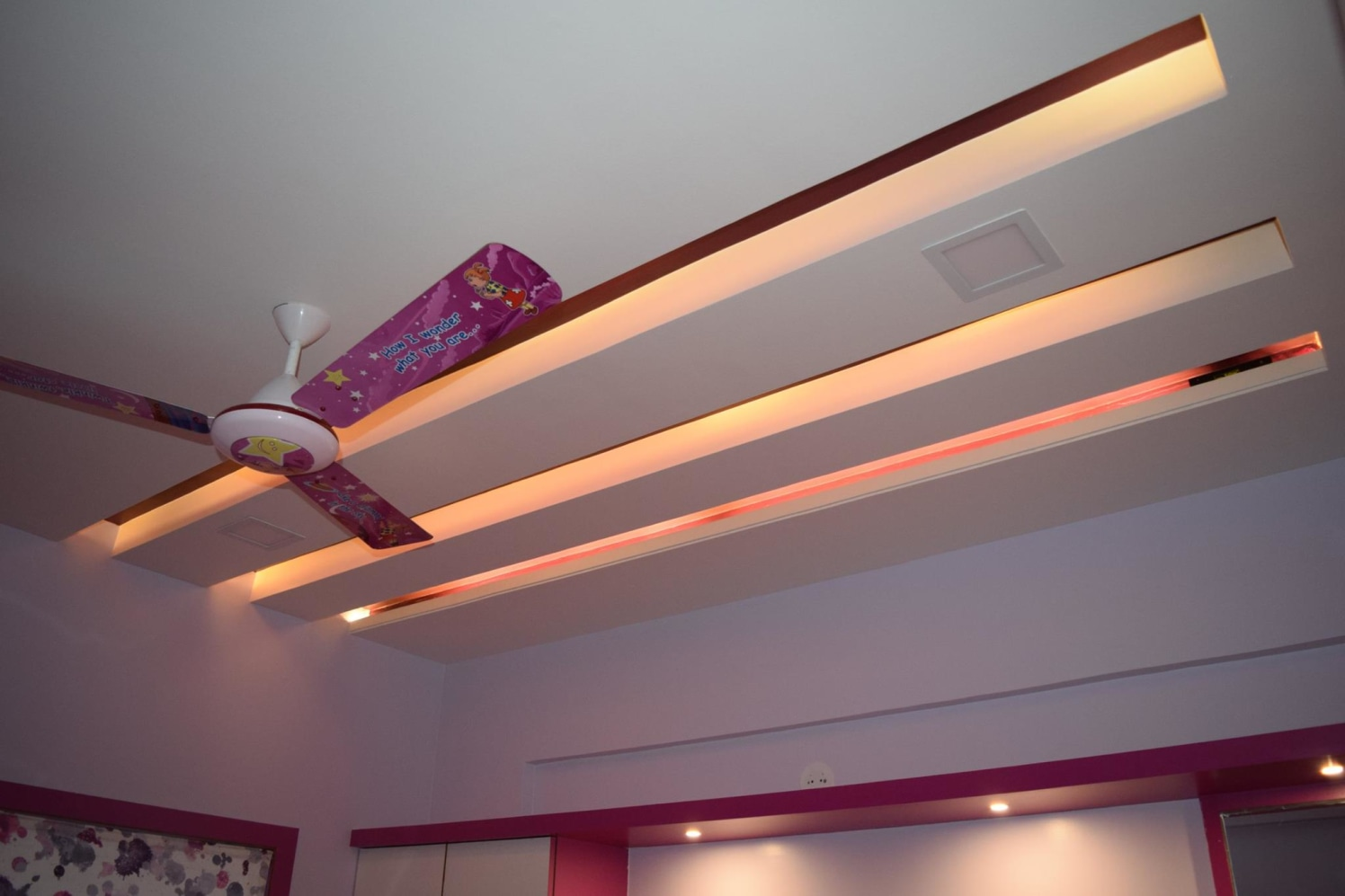 False ceiling With Acsent Lighting by color's interio Contemporary | Interior Design Photos & Ideas