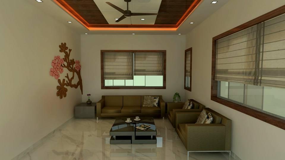 Contemporary living area by color's interio Living-room Contemporary | Interior Design Photos & Ideas
