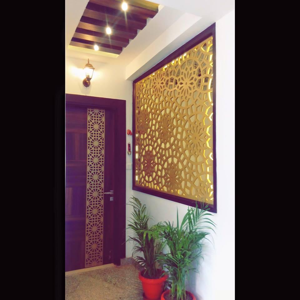 Gold Splash by The Art Effect Indoor-spaces Modern | Interior Design Photos & Ideas